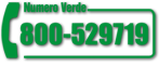 Numero verde per informazioni commerciali